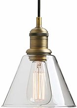 Yosoan Lighting Industrial Vintage Pendant Light