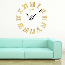 Yosoo DIY 3D Wall Clock Giant Design Large Modern