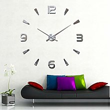 Yosoo DIY Wall Clock 3D Mirror Surface Sticker
