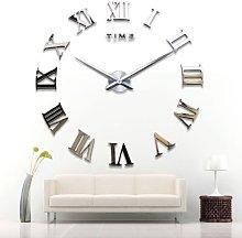 Yosoo Modern Giant Wall Clock with Roman Numerals