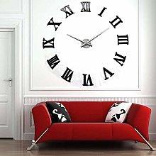 Yosoo Modern Giant Wall Clock With Roman Numerals,