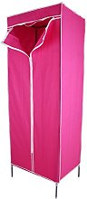 Yosoo Single Canvas Clothes Wardrobe, Bedroom