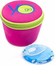 yotogo Yogurt Container, to Go, Travel, Cooler