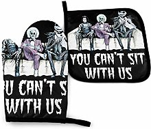 You Cant Sit with Us Tim Burton Characters -Oven