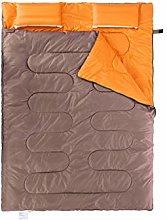 YOUGEYG Double sleeping bag, suitable for