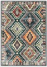 YOUHU Area Rug,Vinatgeboho Ethnic Geometric