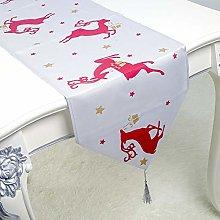 YOUHU Coffee Table Table Runner,Christmas Home