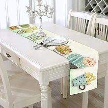 YOUHU Coffee Table Table Runner,Modern Plants