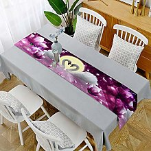 YOUHU Coffee Table Table Runner,Modern Romantic