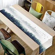 YOUHU Coffee Table Table Runner,Modern Scenery