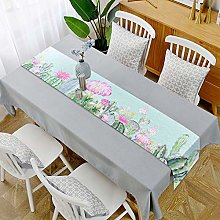 YOUHU Coffee Table Table Runner,Vintage Plants