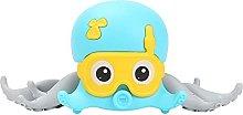YOUMIYH Baby Bath Toy Octopus Clock Wind Up Crawl