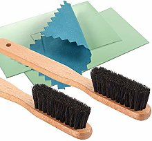 YoungJoy 4 Pcs Horsehair Silver Detailing Brush