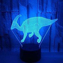 YOUPING 3D LED USB Dinosaur Night Light Multicolor