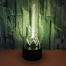 YOUPING 3D LED USB Lighting Fashion Eletric Guitar
