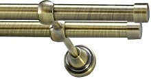 Your Home Online Metal Double Eyelet Curtain Pole