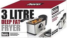 Your Kitchen Hero Deep Fat Fryer, 3 Litre