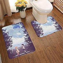Your Lie in April Soft Flannel Floor Mats Carpets
