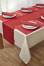 YourHome 14 piece Christmas table linen set