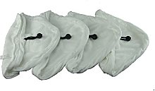 Yourspares 4 X Steam Mop Microfibre Cleaning Cloth