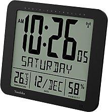 Youshiko Jumbo Large Radio Controlled Wall Clock