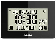 Youshiko Radio Controlled Silent Large LCD Wall