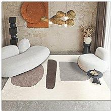 Yousiju Rug Living Room Coffee Table Blanket Large