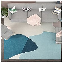 Yousiju Rug Nordic Style Bedroom Carpet Full Floor
