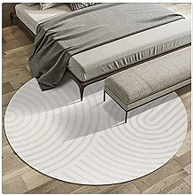 Yousiju Rug Round Carpet Living Room Coffee Table