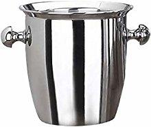 Yousiju Stainless Steel Thickened Ice Bucket Wine
