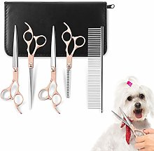 YOUTHINK Pet Grooming Scissors Stainless Steel 5