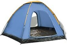Youthup - 6-person Tent Blue and Yellow