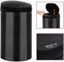 Youthup - Automatic Sensor Dustbin 40 L Carbon