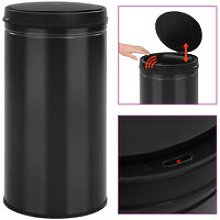 Youthup - Automatic Sensor Dustbin 60 L Carbon