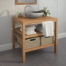 Youthup - Bathroom Vanity Cabinet with 2 Baskets