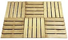 Youthup - Decking Tiles 6 pcs 50x50 cm Wood Green