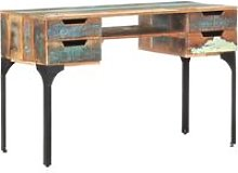Youthup - Desk 118x48x75 cm Solid Reclaimed Wood