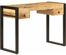 Youthup - Desk with 2 Drawers 110x50x77 cm Solid