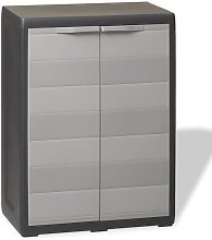 Youthup - Garden Storage Cabinet with 1 Shelf
