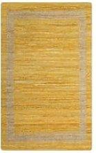 Youthup - Handmade Rug Jute Yellow 80x160 cm