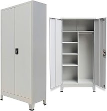 Youthup - Locker Cabinet with 2 Doors Steel
