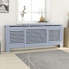YOUTHUP MDF Radiator Cover Grey 205 cm