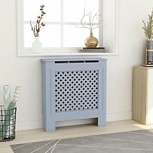 YOUTHUP MDF Radiator Cover Grey 78 cm