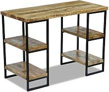Youthup - Office Desk Mango Wood 110x50x76 cm