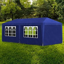 Youthup - Party Tent 3x6 m Blue