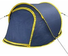 Youthup - Pop-up Camping Tent 2 Persons Navy Blue