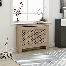 Youthup - Radiator Cover 112x19x81 cm MDF