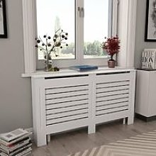 Youthup - Radiator Covers 2 pcs White 152x19x81.5