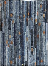Youthup - Rug Jeans Waistband Patchwork 160x230 cm