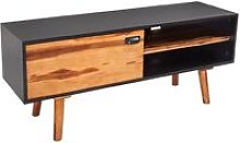 Youthup - Solid Acacia Wood TV Cabinet 120x35x50 cm